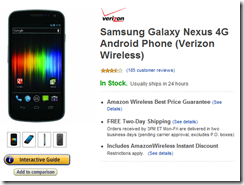 AmazonWireless Samsung Galaxy Nexus